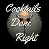 Cocktails done right logo